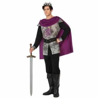 Goedkoop ridder/koning verkleedcarnavalskleding heren