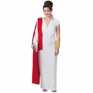 Goedkoop romeins verkleed jurk dames carnavalskleding