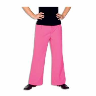 Goedkoop  Roze broek heren carnavalskleding