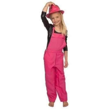 Goedkoop roze verkleed carnavalskledingl kinderen