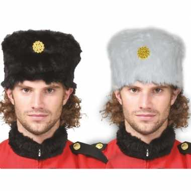 Goedkoop russische bontmuts kozak carnavalskleding