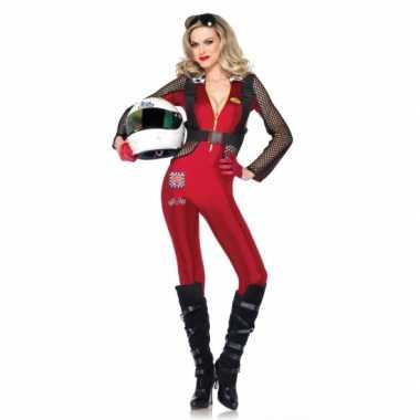 Goedkoop sexy formule carnavalskleding dames