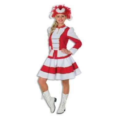 Carnavalskleding Dames Clown.Goedkoop Showdans Carnavalskleding Dames Rood Wit Goedkoop