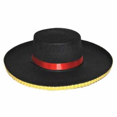 Goedkoop spaanse verkleed hoeden antonio heren carnavalskleding