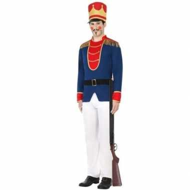 Goedkoop speelgoed soldaat verkleed carnavalskleding heren