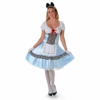 Goedkoop sprookjes carnavalskleding alice dames