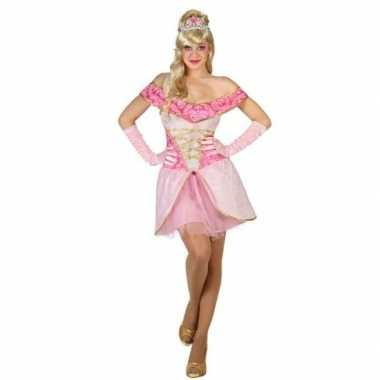 Goedkoop sprookjes prinses verkleed jurkje dames carnavalskleding