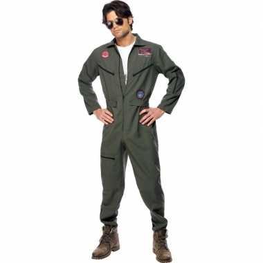 Goedkoop straaljager piloten carnavalskleding heren