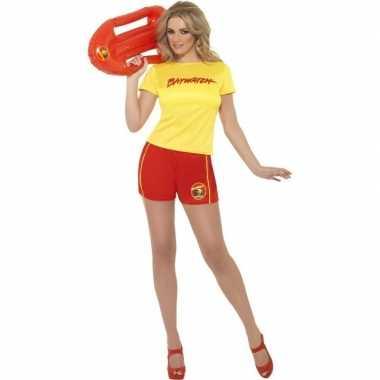 Goedkoop strandwacht carnavalskleding dames