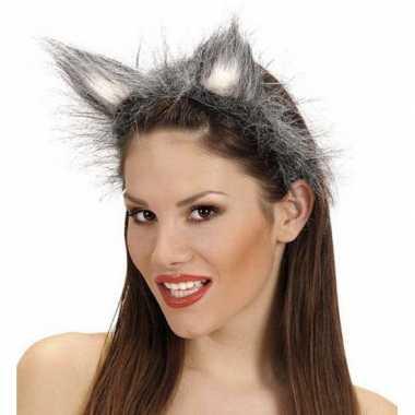 Goedkoop tiara wolvenoren carnavalskleding