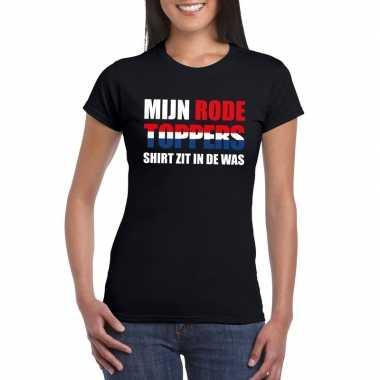 Goedkoop toppers mijn rode toppers shirt zit was t shirt zwart dames