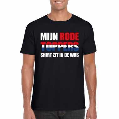 Goedkoop toppers mijn rode toppers shirt zit was t shirt zwart heren