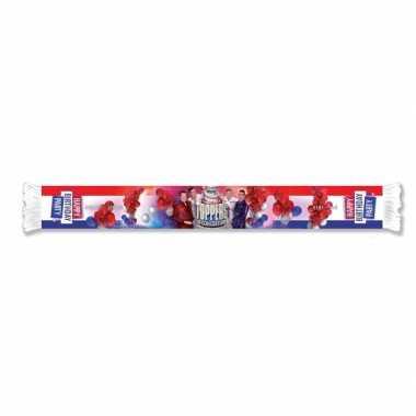 Goedkoop toppers officiele toppers concert sjaal carnavalskleding