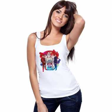 Goedkoop toppers wit toppers concert officieel mouwloos shirt dames c