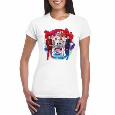 Goedkoop toppers wit toppers concert officieel t shirt dames carnaval