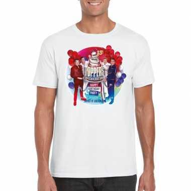 Goedkoop toppers wit toppers concert officieel t shirt heren carnaval
