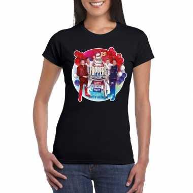 Goedkoop toppers zwart toppers concert officieel t shirt dames carnav
