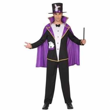 Goedkoop tovenaar/goochelaar carnavalskleding volwassenen