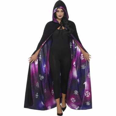 Goedkoop tovenaars of heksen verkleed mantel carnavalskleding