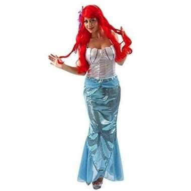 Goedkoop verkleed jurkje zeemeerminnen dames carnavalskleding