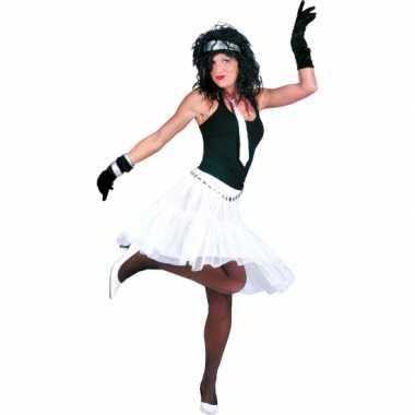 Goedkoop  Verkleed petticoat dames wit carnavalskleding