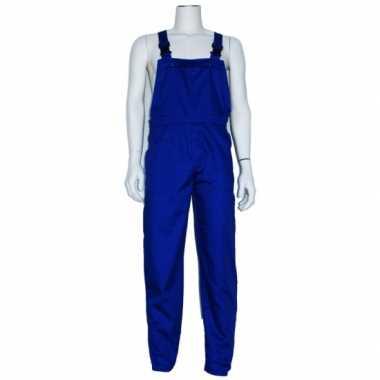 Goedkoop verkleed tuinbroek blauw volwassenen carnavalskleding