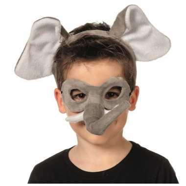 Goedkoop verkleedpartij setje olifant kinderen carnavalskleding