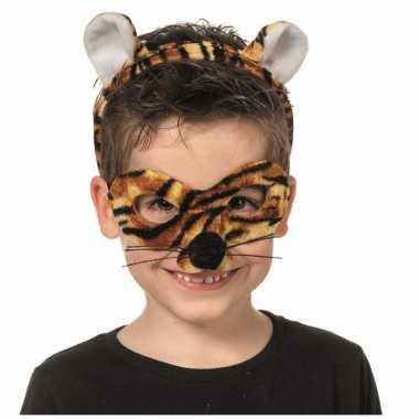 Goedkoop verkleedpartij setje tijger kinderen carnavalskleding