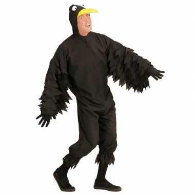 Goedkoop vogel carnavalskleding zwarte kraai