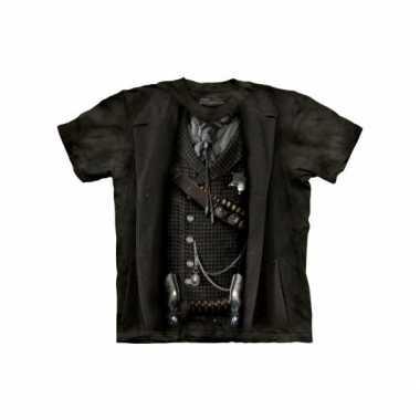 Goedkoop volwassene shirts sheriff jack carnavalskleding