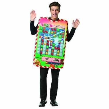 Goedkoop volwassenen candy crush carnavalskleding