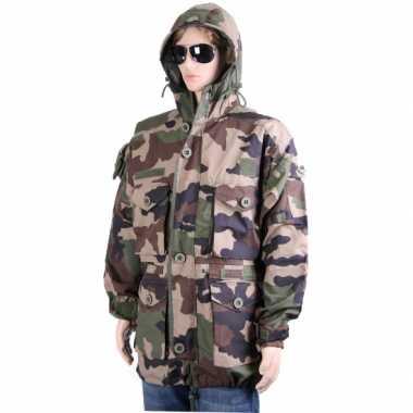 Goedkoop warme camouflage winterjassen carnavalskleding