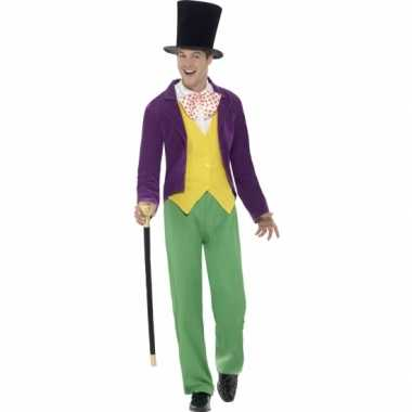 Goedkoop willy wonka carnaval carnavalskleding heren