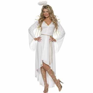 Goedkoop wit engelen carnavalskleding dames