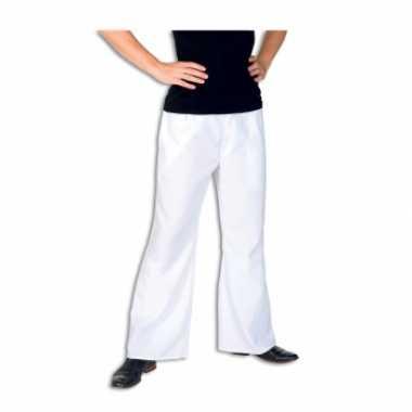 Goedkoop  Witte broek heren carnavalskleding