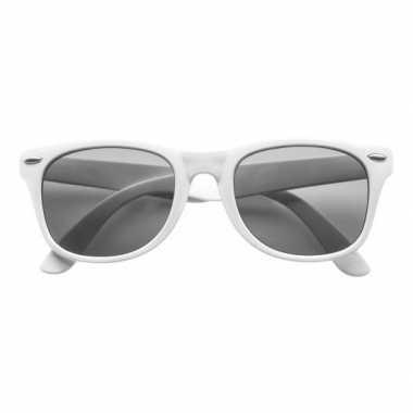 Goedkoop witte toppers verkleedaccessoire bril volwassenen carnavalskleding