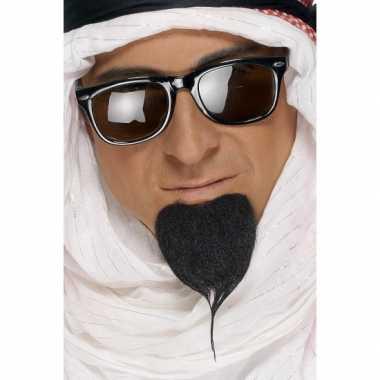 Goedkoop  Zwarte arabier baard carnavalskleding