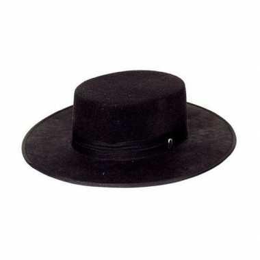 Goedkoop zwarte spaanse hoeden carnavalskleding