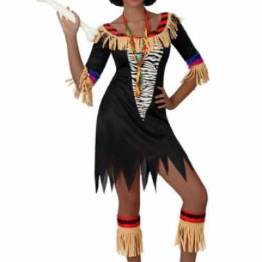 Carnavalskleding Goedkoop Dames.Goedkoop Zwarte Zulu Jurk Dames Carnavalskleding Goedkoop