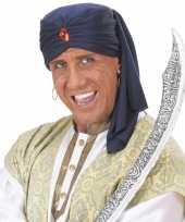 Goedkoop arabische tulbanden volwassenen carnavalskleding