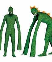 Goedkoop carnavalskleding reptielen monster volwassenen