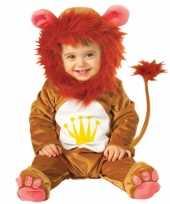 Goedkoop dieren carnavalskleding leeuw baby