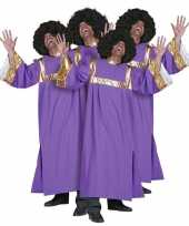 Goedkoop gospel koor carnavalskleding