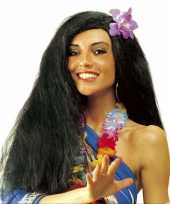 Goedkoop hawaiiaanse pruik bloem carnavalskleding