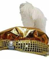 Goedkoop hoedje sultan volwassenen carnavalskleding