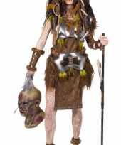 Goedkoop kanibalen stam carnavalskleding dames