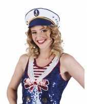 Goedkoop kapitein pet volwassenen carnavalskleding