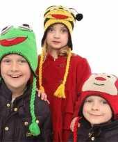 Goedkoop lieveheersbeestjes muts kids carnavalskleding