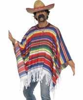 Goedkoop mexicaans carnavalskledings poncho