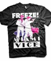 Goedkoop miami vice freeze carnavalskleding heren shirt